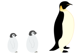 コウテイペンギン(皇帝ペンギン)