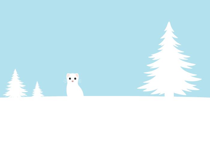 冬の風景(雪)
